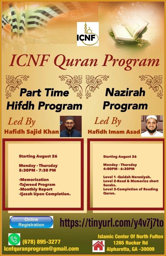 Islamic Center of North Fulton (ICNF)