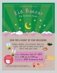 Eid Bazar On July 17, 2021